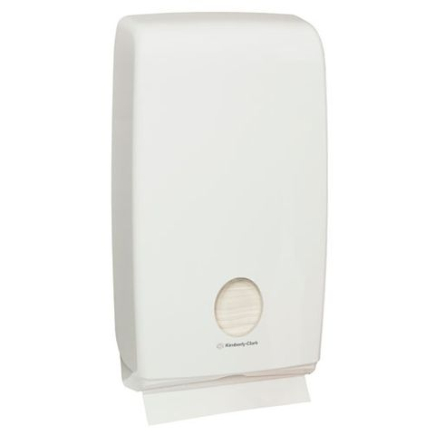 KIMBERLY-CLARK PROFESSIONAL AQUARIUS FOLDED HAND TOWEL DISPENSER