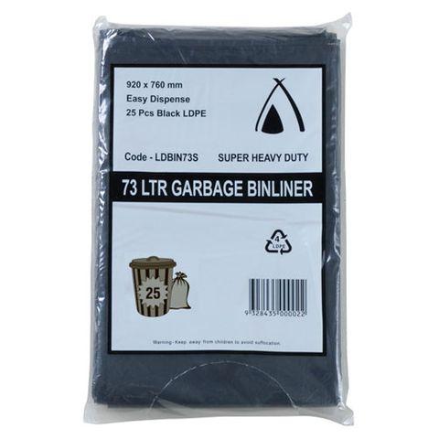 73L BLACK BAGS 900X760  CTN/200-45UM
