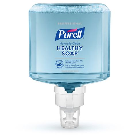 PURELL PROFESSIONAL CRT HEALTHY SOAP NATURALLY CLEAN FRAGRANCE FREE FOAM (ES8)