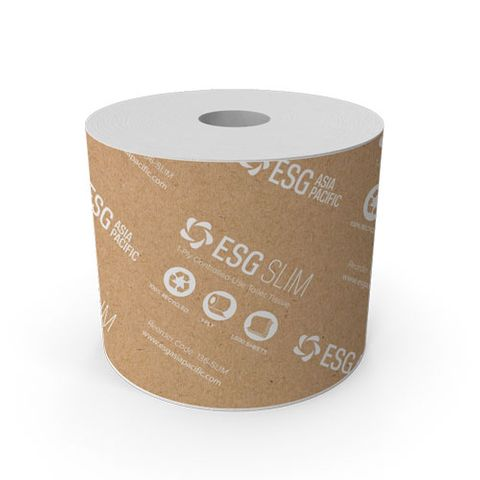 ESG SLIM 100% RECYCLED TOILET TISSUE
