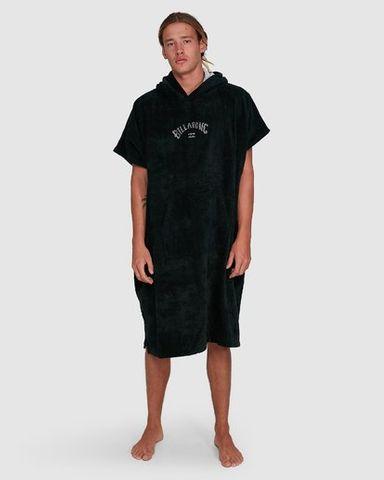 Billabong Hoodie Towel, Black
