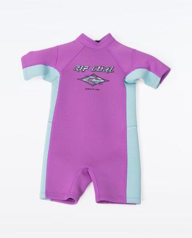Rip Curl Groms Omega Spring Suit Purple