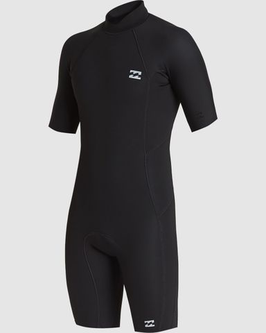 Billabong202 Absolute Back Zip Short Sleeve Springsuit