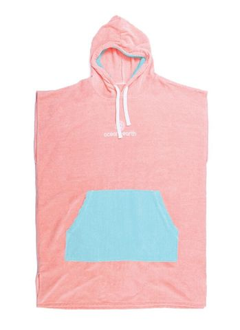 O&e Youth Day Dream Pink Hooded Poncho