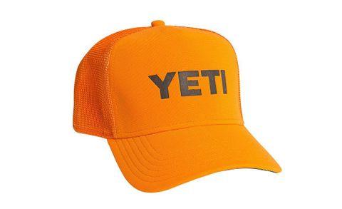 Yeti Trucker Hat Blaze Orange