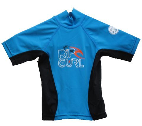 Rip Curl Grom Search Short Sleeve Rash