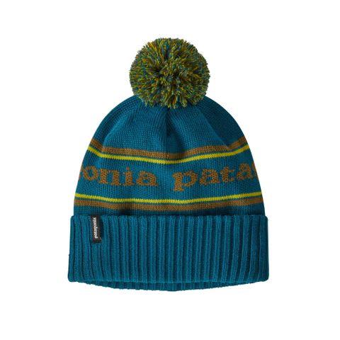 Patagonia Powder Town Beanie - Park Stripe Knit: Crater Blue