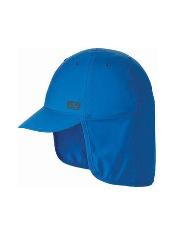 O&e Kids Sunbreaker Beach Hat Blue