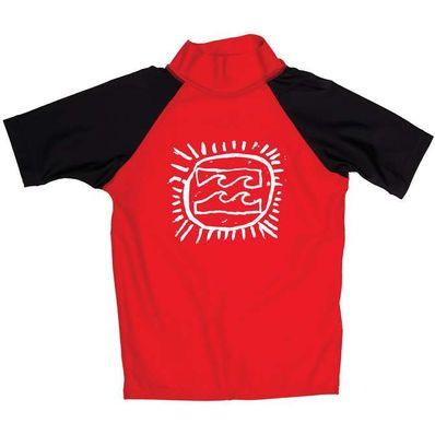 Billabong Kids Short Sleeve Wetshirt - Red