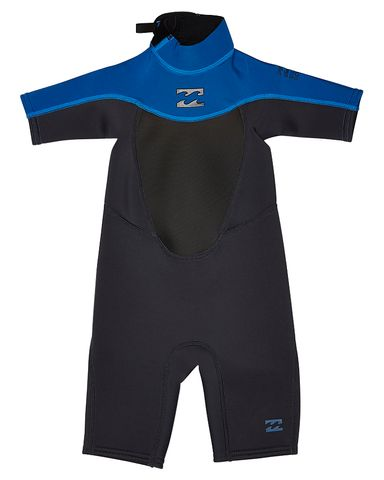 Billabong Kids Foil Back Zip Spring Suit - Graphite