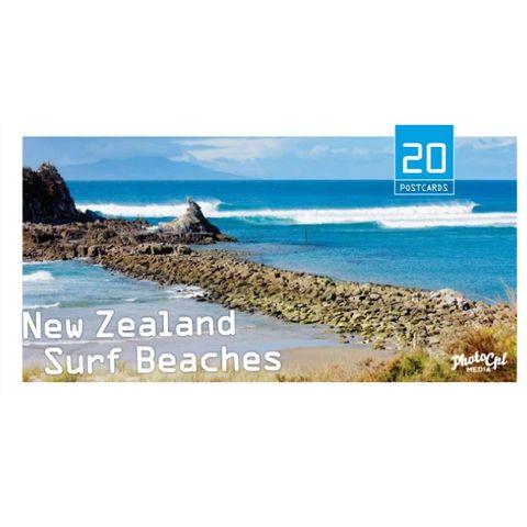 Nz Surf Beaches Postcards