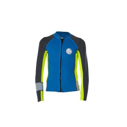 Rip Curl Junior Aggrolite Long Sleeve Jacket - Blue