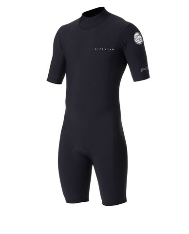 Rip Curl Aggrolite Spring Suit Back zip - Black