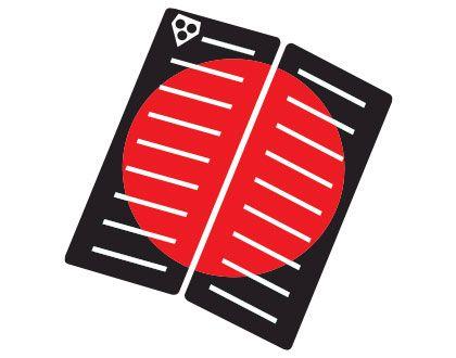 Gorilla Grip Centre Deck Red Dot
