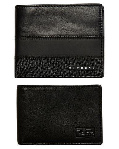 Rip Curl Stacked Rfid Wallet Black