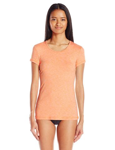 Rip Curl Womens Search Short sleeve Uvt Orange