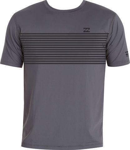 Billabong Spinner Pro Short Sleeve Surf Shirt - Graphite