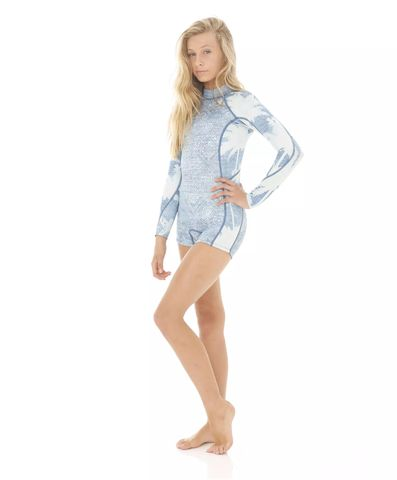 Billabong Teen Spring Fever Long Sleeve - Indigo