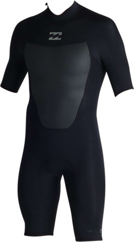 Billabong Absolute Comp Spring Suit Back Zip - Black