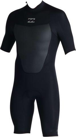Billabong Absolute Comp Spring Suit Back Zip - Black