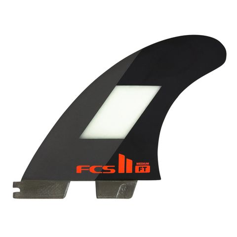 Fcs2 Filipe Toledo Tri Fins - Medium Black