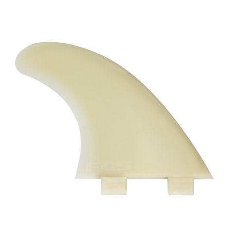 Fcs M7 Natural Glass Flex Tri Fins - Large