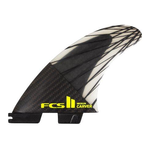 Fcs2 Carver Pc Carbon Tri Fins - Large