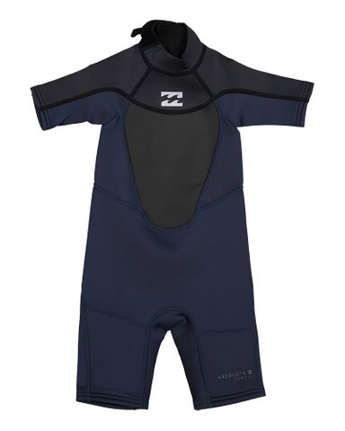 Billabong Toddler Absolute Spring Wetsuit - Asphalt