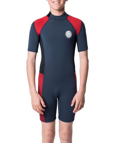 Rip Curl Junior Aggrolite Springsuit Red