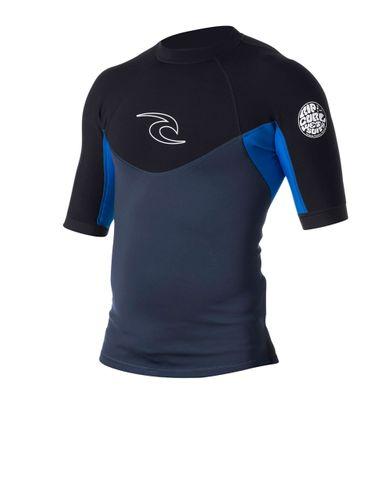 Rip Curl Dawn Patrol Jacket Short Sleeve - Blue