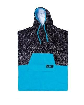 O&e Youth Hooded Poncho Blue