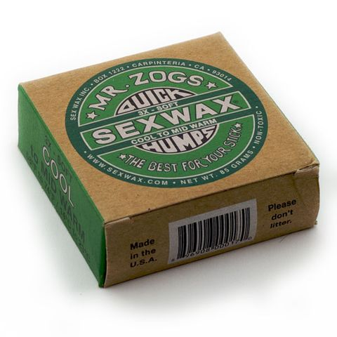 Sex Wax Quick Humps 3x Green Cold/cool