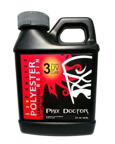 Phix Dr. Sun Power Poly Sanding Resin 80