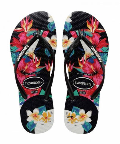 Havaianas Slim Tropical Floral - Womens
