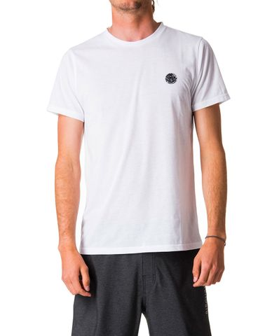 Rip Curl Search Surflite Short Sleeve UVT White
