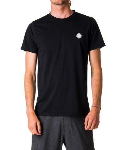 Rip Curl Search Surflite Short Sleeve UVT Black