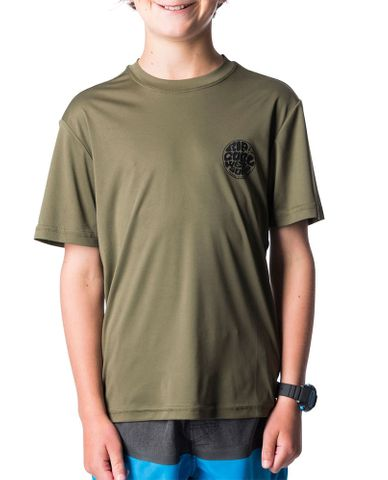 Rip Curl Search Surflite Short Sleeve UV Tee Rash Shirt