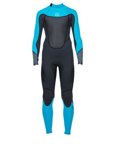 Billabong Teen Absolute Comp 302 GBS Back Zip Full Suit