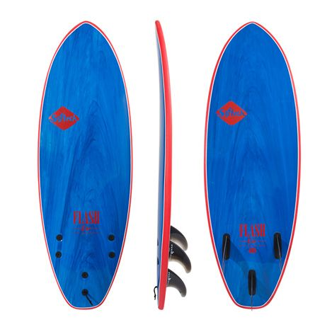 Softech Flash Eric G  Blue Marble 6'0""