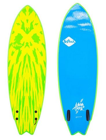 Softech Mason Twin Lime/yel 5'6""