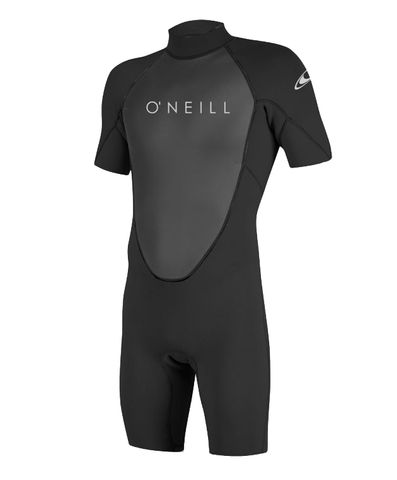 O'Neill Reactor II 2mm Back Zip S/S Spring Wetsuit  - Black