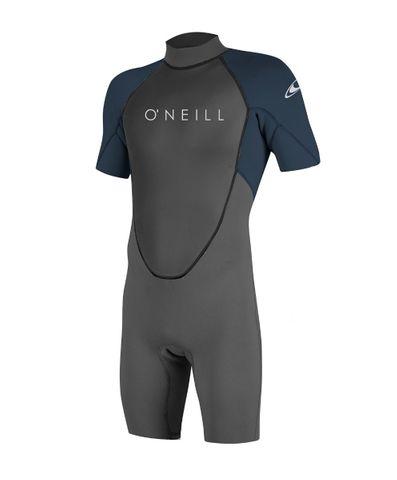 O'Neill Reactor II 2mm Back Zip S/S Spring Wetsuit - Slate