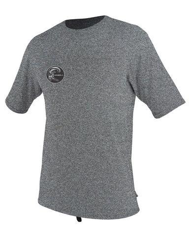 O'Neill 24-7 Hybrid Short Sleeve Surf Shirt - Smoke