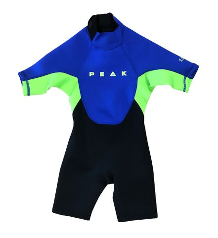 Peak Boys Energy Short Sleeve Spring Suit - Lime