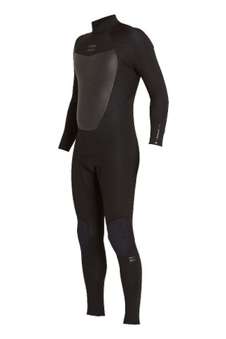 Billabong Absolute Comp 302 Back Zip - Black