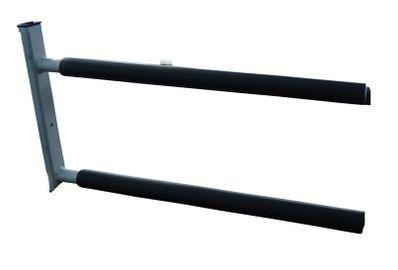 Curve Aluminum Double Sup Rack