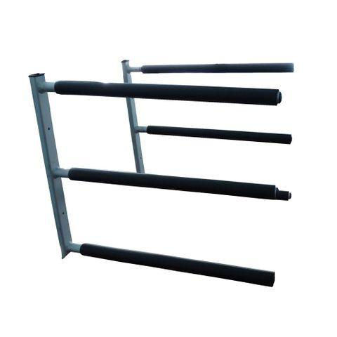Curve Aluminum Triple Sup Rack