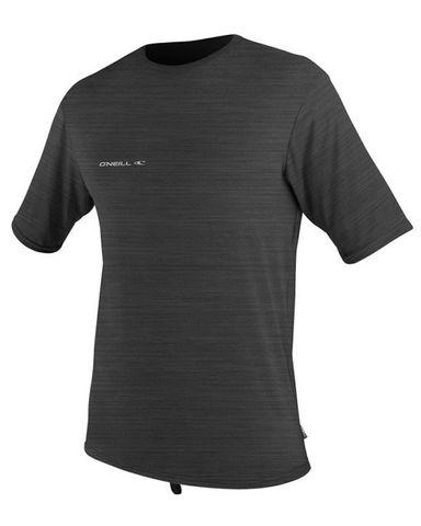 O'Neill 24-7 Hybrid Short Sleeve Surf Shirt - Graphite