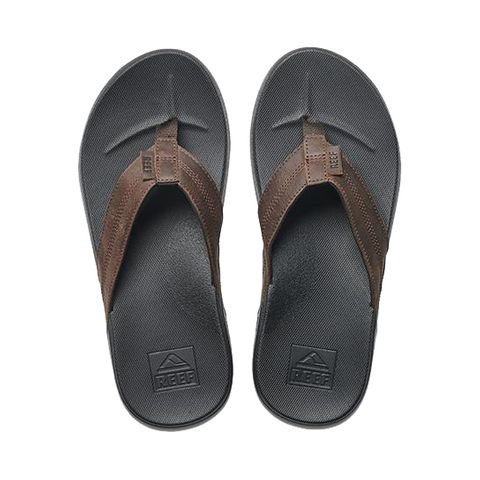 Reef Cushion Bounce Leather- Black/Brown