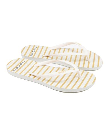 Rip Curl Jandals Glitter Stripe Rose Gold - Womens
